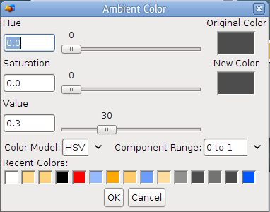 how to turn off colour picker on sai