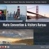 Marin Convention & Visitors Bureau screenshot