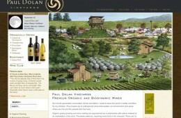Paul Dolan Vineyards screenshot