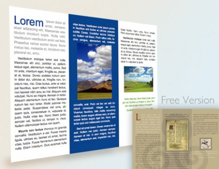 Free libreoffice template flyer brochure marc carson for Brochure template for openoffice