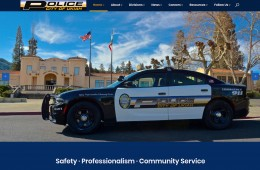 Ukiah Police Department screenshot