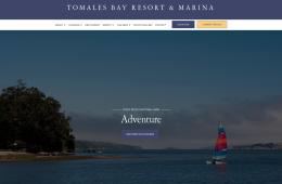 Tomales Bay Resort & Marina screenshot